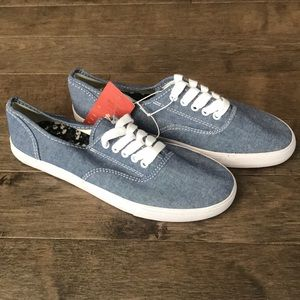 Mossimo chambray sneakers